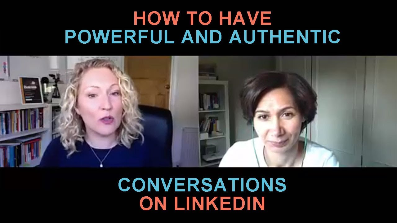 Episode 22: Amanda C Watts Reveals How To Have Powerful And Authentic Conversations On LinkedIn