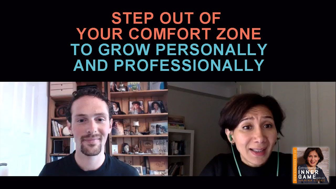 Episode 25: Simone Vincenzi Explains How To Step Out of Your Comfort Zone To Grow Personally And Professionally