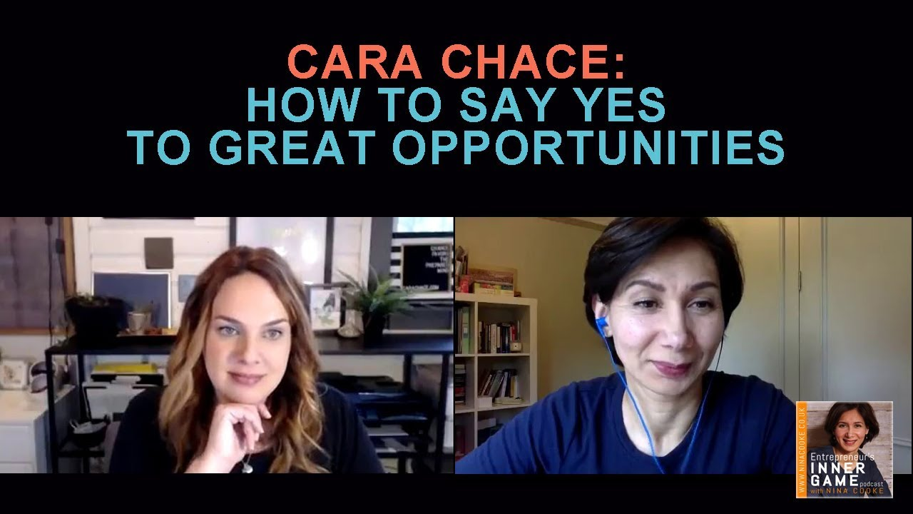 Episode 42: Cara Chace Shows How To Say YES To Great Opportunities