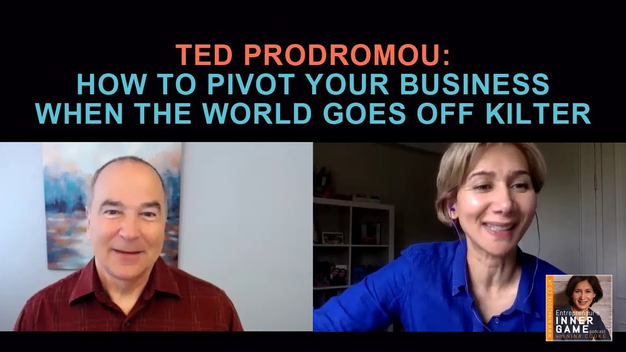 #84: Ted Prodrumou: How to Pivot your Business when the World goes off kilter